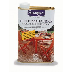 HUILE PROTECTRICE BOIS EXOTIQUE 500ML STARWAX