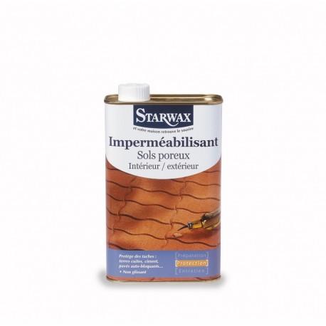 IMPERMEABILISANT SOLS POREUX 1 L STARWAX