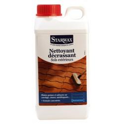 NETTOYANT DECRASSANT SOLS EXTERIEURS 1 L STARWAX