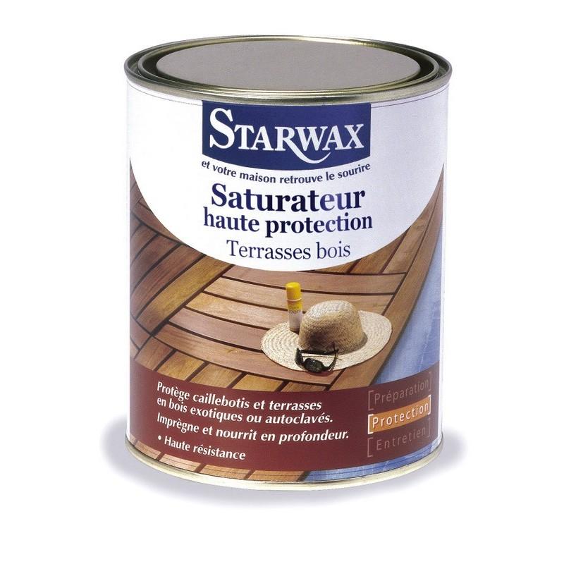 Sols > Produits sols Starwax > PROTECTION TERRASSES BOIS 1L STARWAX