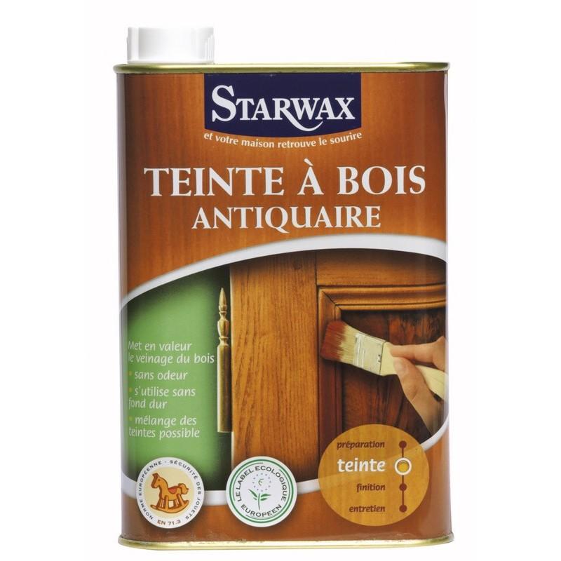 droguerie lafanechere vente en ligne teinte ton bois phase aqueuse noyer 500 ml starwax. Black Bedroom Furniture Sets. Home Design Ideas