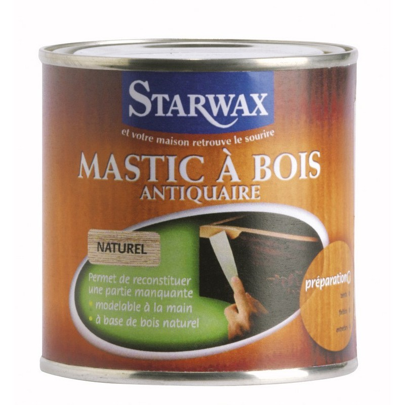 droguerie lafanechere vente en ligne mastic a bois acajou 250 gr starwax. Black Bedroom Furniture Sets. Home Design Ideas