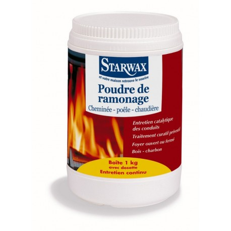 POUDRE DE RAMONAGE BOITE 1 KG STARWAX