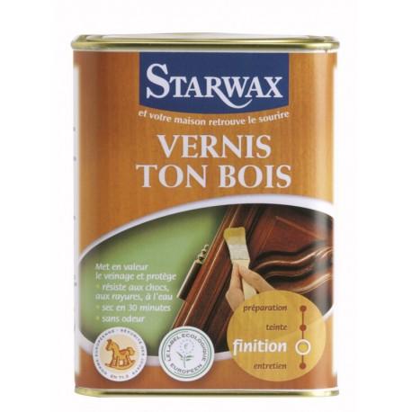 VERNIS TON BOIS CHENE moyen ciré 1 L STARWAX