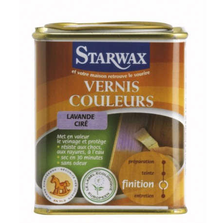 VERNIS COULEURS vert ciré 500 ML STARWAX