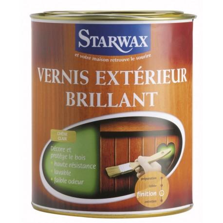 Droguerie lafanechere vente en ligne vernis exterieur et intemperies teck brillant 2 5 l starwax - Vernis pour bois exterieur ...