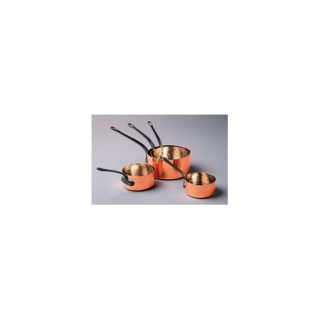 5 casseroles cuivre   12-20 cm BAUMALU