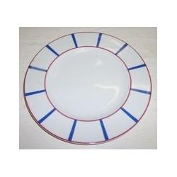 Assiette à dessert 21 cm 'basque' MAISON A VIVRE