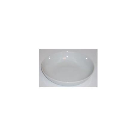 Assiette calotte 'blanc' 20,5 cm
