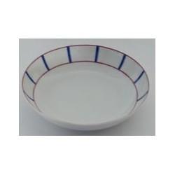 Assiette calotte 20,5 cm 'basque' MAISON A VIVRE