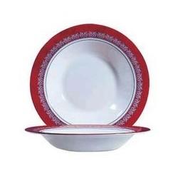 Assiette creuse 'convivio rubis' ARCOROC