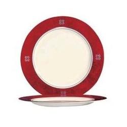 Assiette plate 'convivio rubis' ARCOROC
