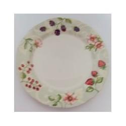 Assiette plate 26 cm 'fruits' MAISON A VIVRE