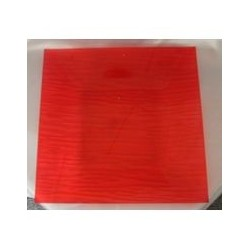 Assiette plate rubis 'eleganza'