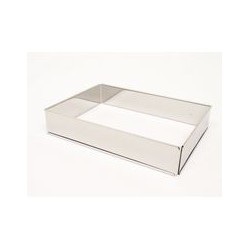 Cadre à pâtisserie 'rectangle' LARES