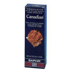 CIRAGE CANADIAN AVEL SAPHIR TUBE 75ML MARRON FONCE