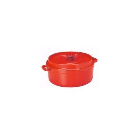 Cocotte ronde 'mijoteuse' rubis   24 cm INVICTA
