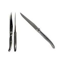 Couteau à steak 'Laguiole inox' AMEFA