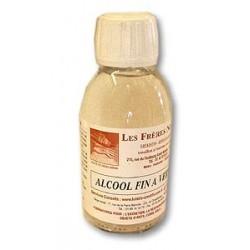 ALCOOL FIN A VERNIR 125 ml des Frères NORDIN