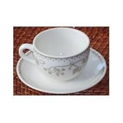 Paire tasse à café 24 cl 'vintage'