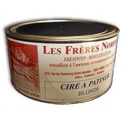 CIRE A PATINER BLONDE 5 kg des Frères NORDIN