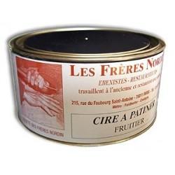 CIRE A PATINER FRUITIER 250 ml des Frères NORDIN