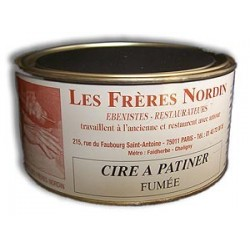 CIRE A PATINER FUMEE 250 ml des Frères NORDIN