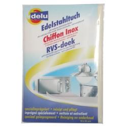 DELU CHIFFON IMPREGNE INOX 55X35CM