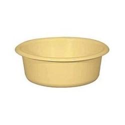 Cuvette ronde 1,5 L jaune ALUMINIUM ET PLASTIQUE