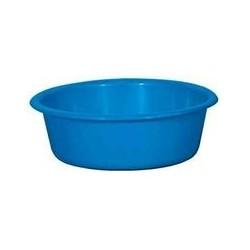 Cuvette ronde 5 L bleu ALUMINIUM ET PLASTIQUE