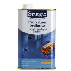 PROTECTION BRILLANTE GRES & CARRELAGE EMAILLE 1 LITRE STARWAX