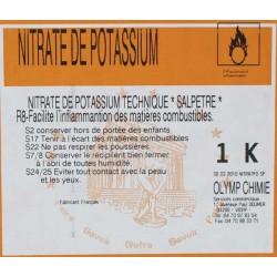 NITRATE DE POTASSIUM ALIMENTAIRE (SALPETRE)