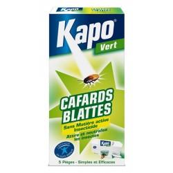 PIEGES A CAFARDS  ETUI DE 5 KAPO