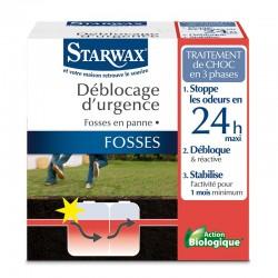 TRAITEMENT URGENCE FOSSES BLOQUEES 2X200GR STARWAX
