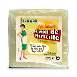 SAVON DE MARSEILLE CUBE OLIVE 300G STARWAX THE FABULOUS