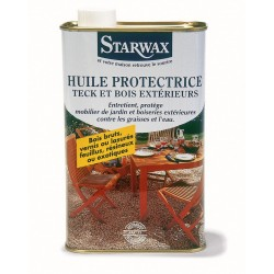 HUILE PROTECTRICE BOIS EXOTIQUE 1 L STARWAX