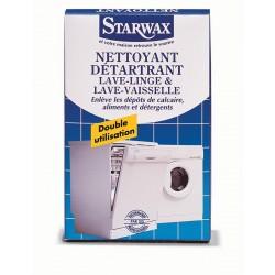 NETTOYANT DETARTRANT LAVE LINGE / LAVE VAISSELLE 2X75G STARWAX