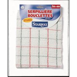 SERPILLIERE BOUCLETTE 50X60 STARWAX