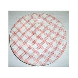 Assiette à dessert 20 cm 'tartan'