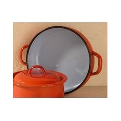 Plat orange   28 cm ESTRELLA